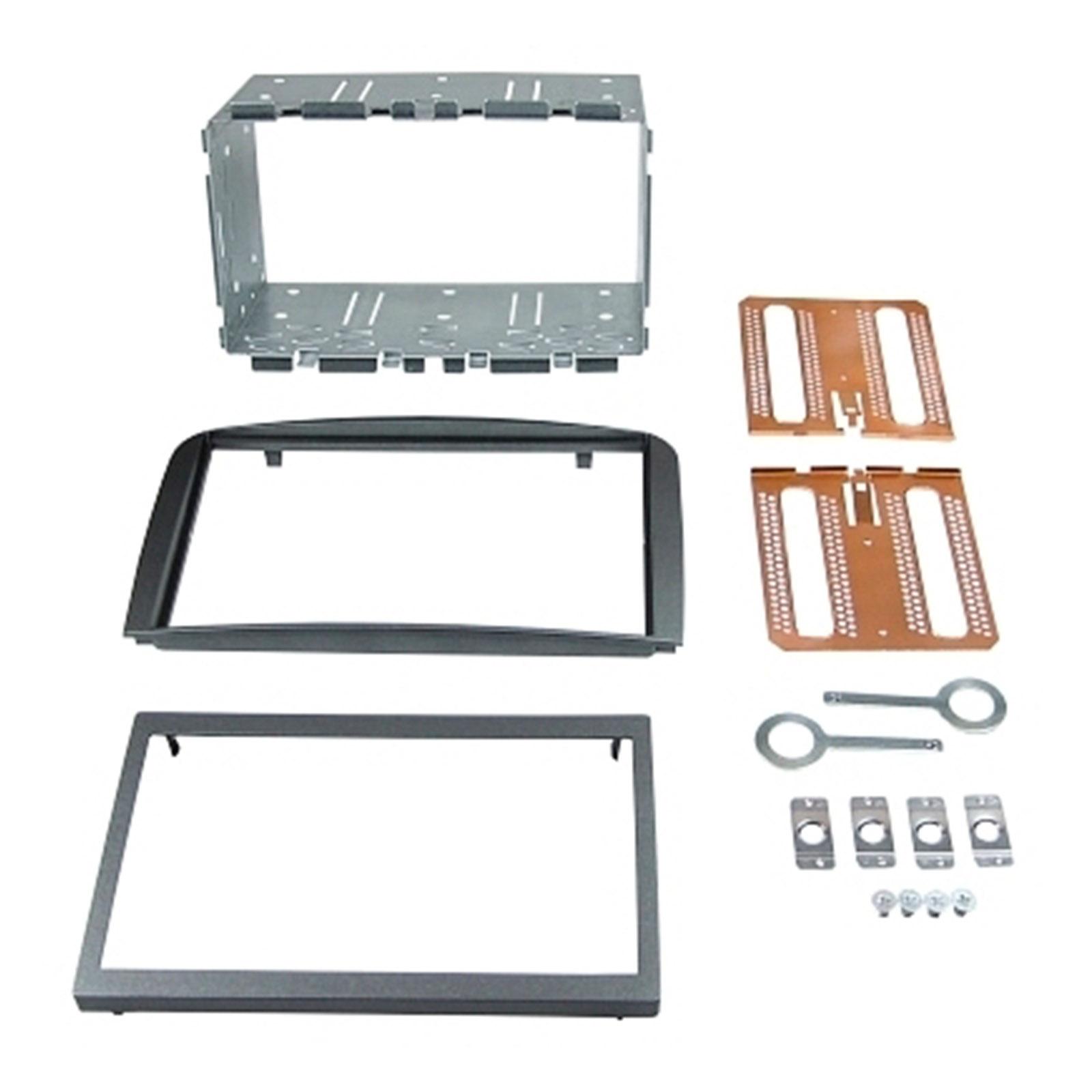 Doppel ISO Einbauset passend für ALFA Romeo 147 Typ 937 GT