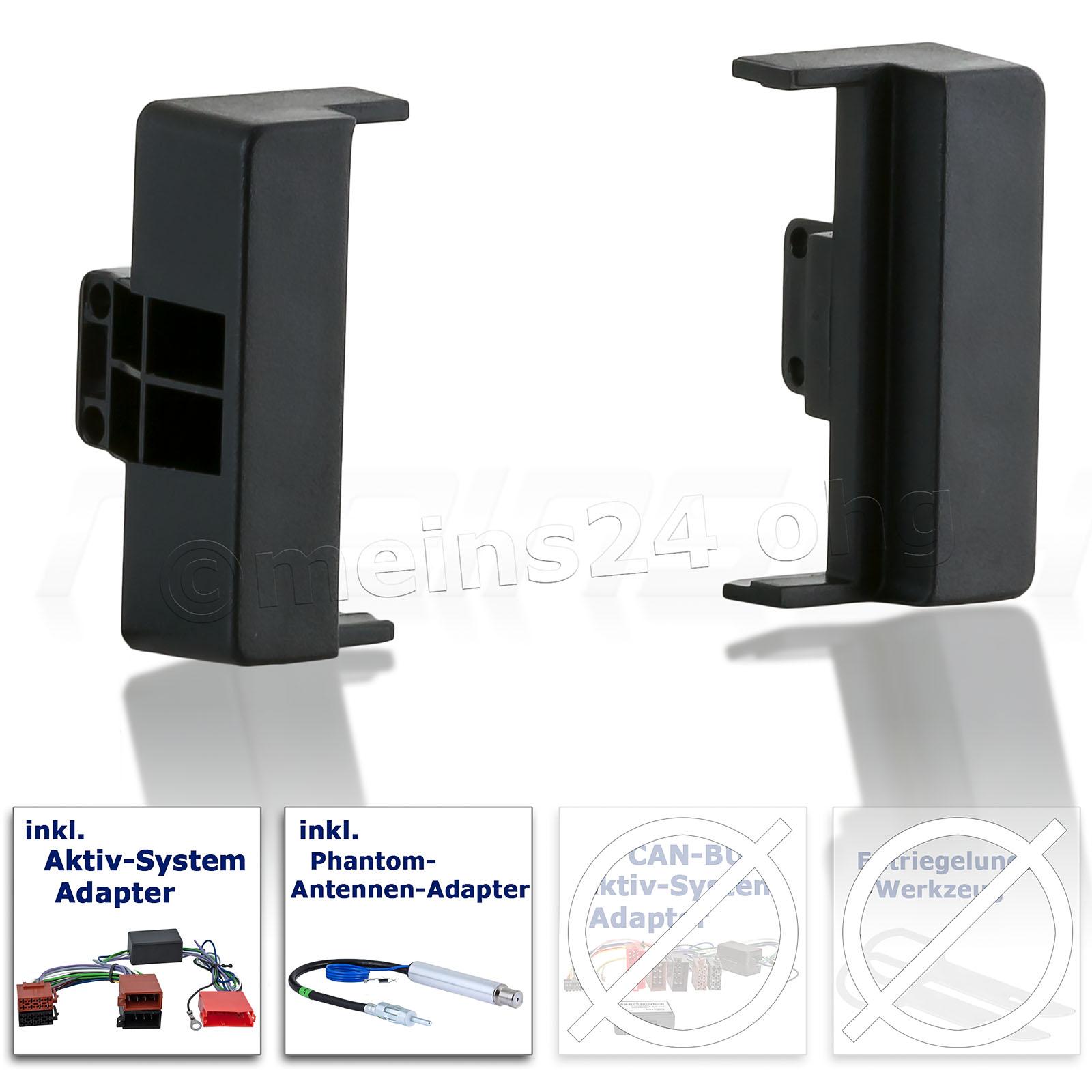 Einbauset passend für AUDI A4 S4 (B5)