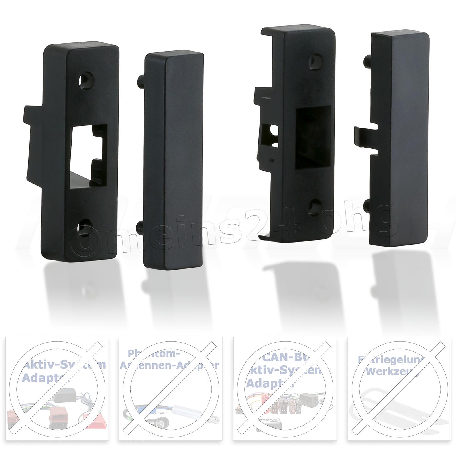 Radioblende passend für AUDI A3 (8L) TT (8N)