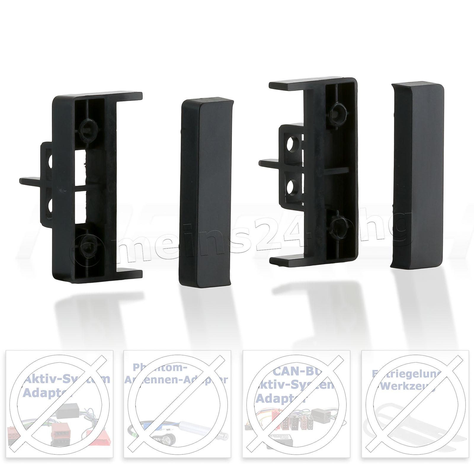 Radioblende passend für AUDI A4 A6