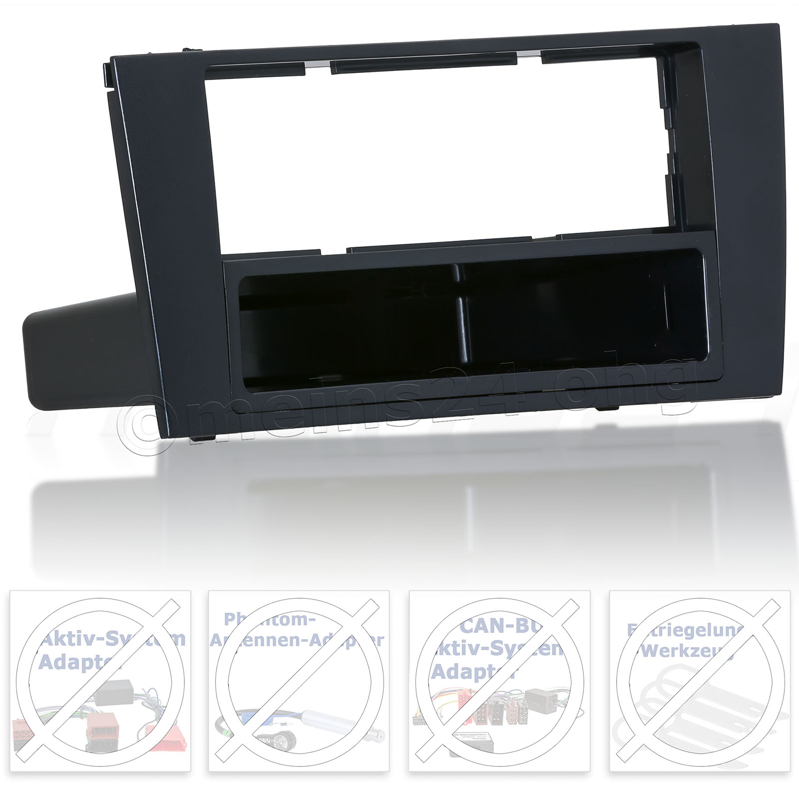 Radioblende passend für AUDI A4 (B5)