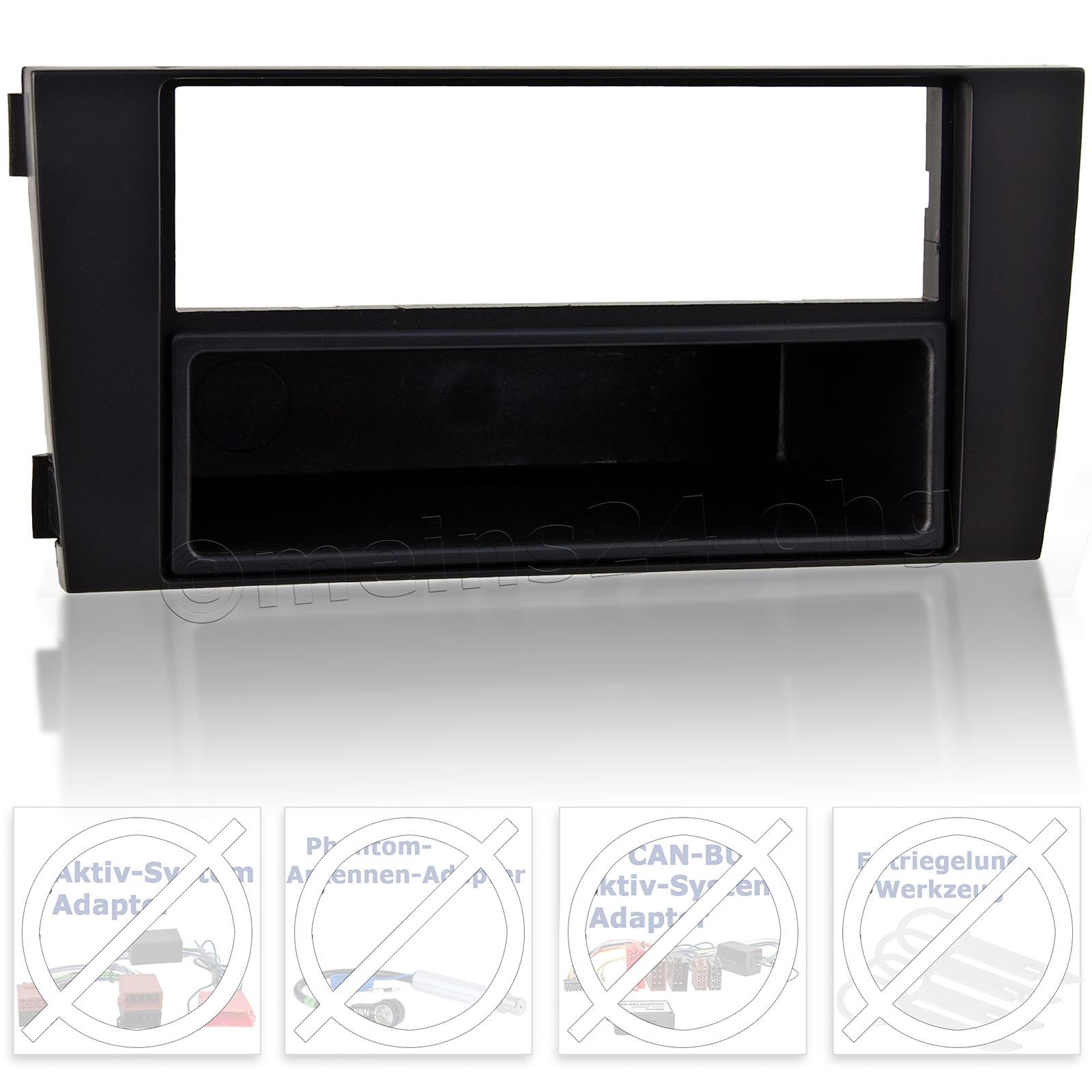 Radioblende passend für AUDI A6 C5 (4B Facelift)