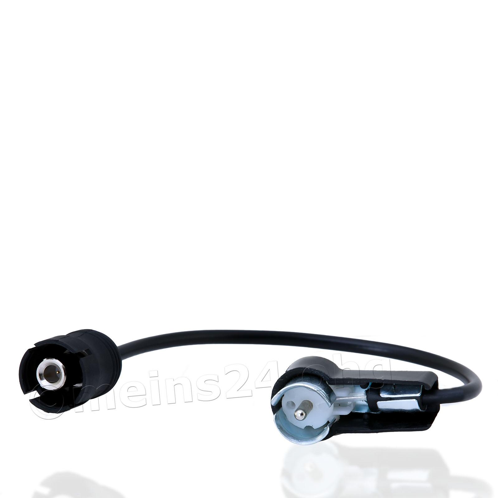 Antennenadapter passend für CHRYSLER CHEVROLET Stecker (m) > ISO Stecker (m)