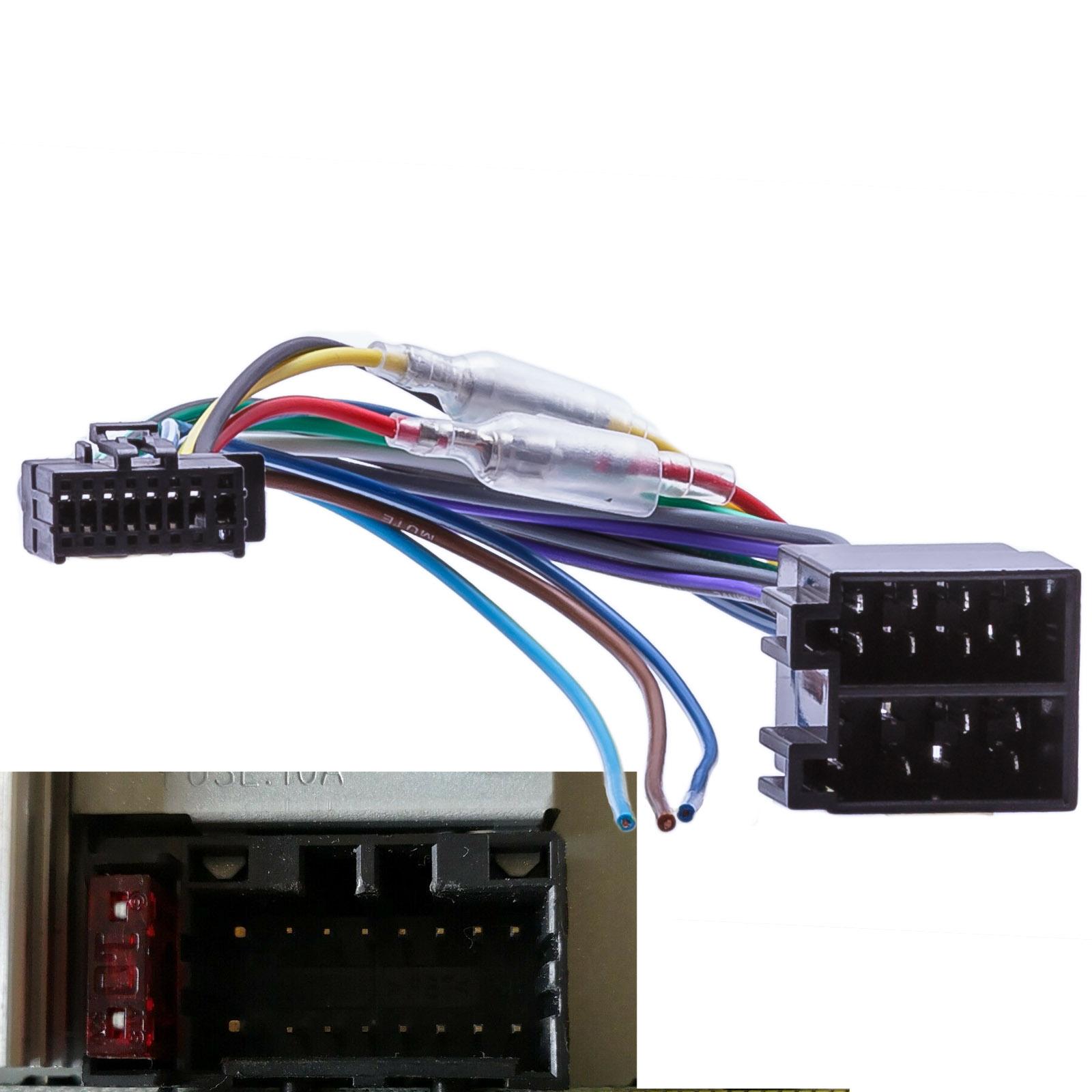 Anschlusskabel für JVC und Kenwood Autoradios neuere Version