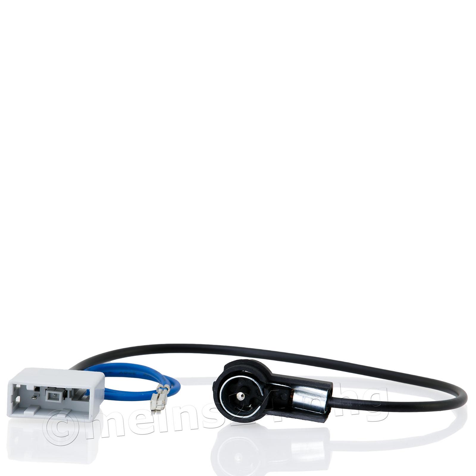 Antennenadapter passend für NISSAN ab Bj.07 GT13 (f) -> ISO (m) 50 Ohm