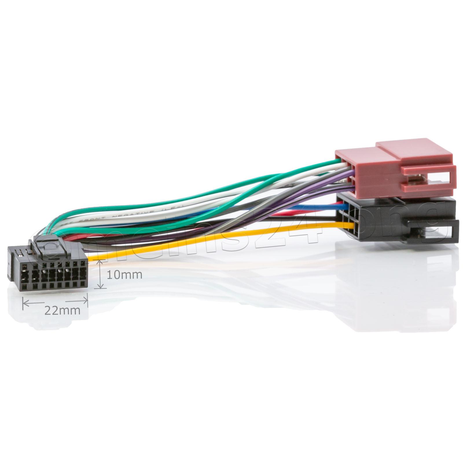 Anschlusskabel passend für SONY Autoradio 16pol. 23x10mm - XR-Serie