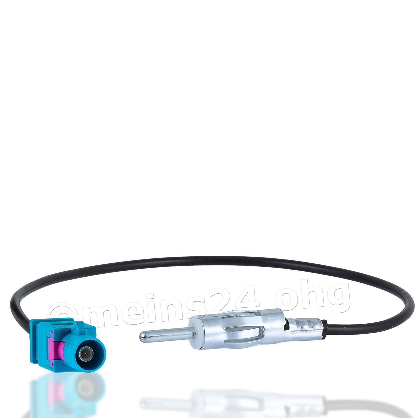 Antennenadapter Fakra Z Stecker (m) auf DIN Stecker
