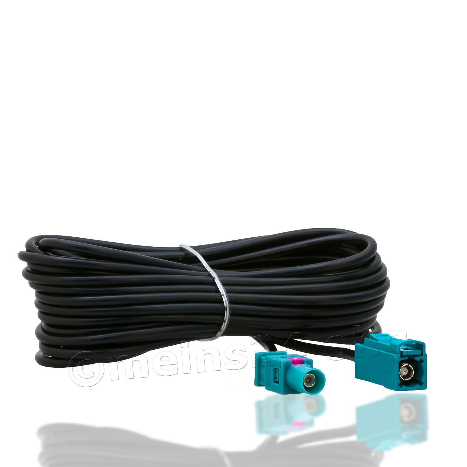 Antennenverlängerungskabel 5m Fakra Z Stecker (m) > Fakra Z Buchse (f)