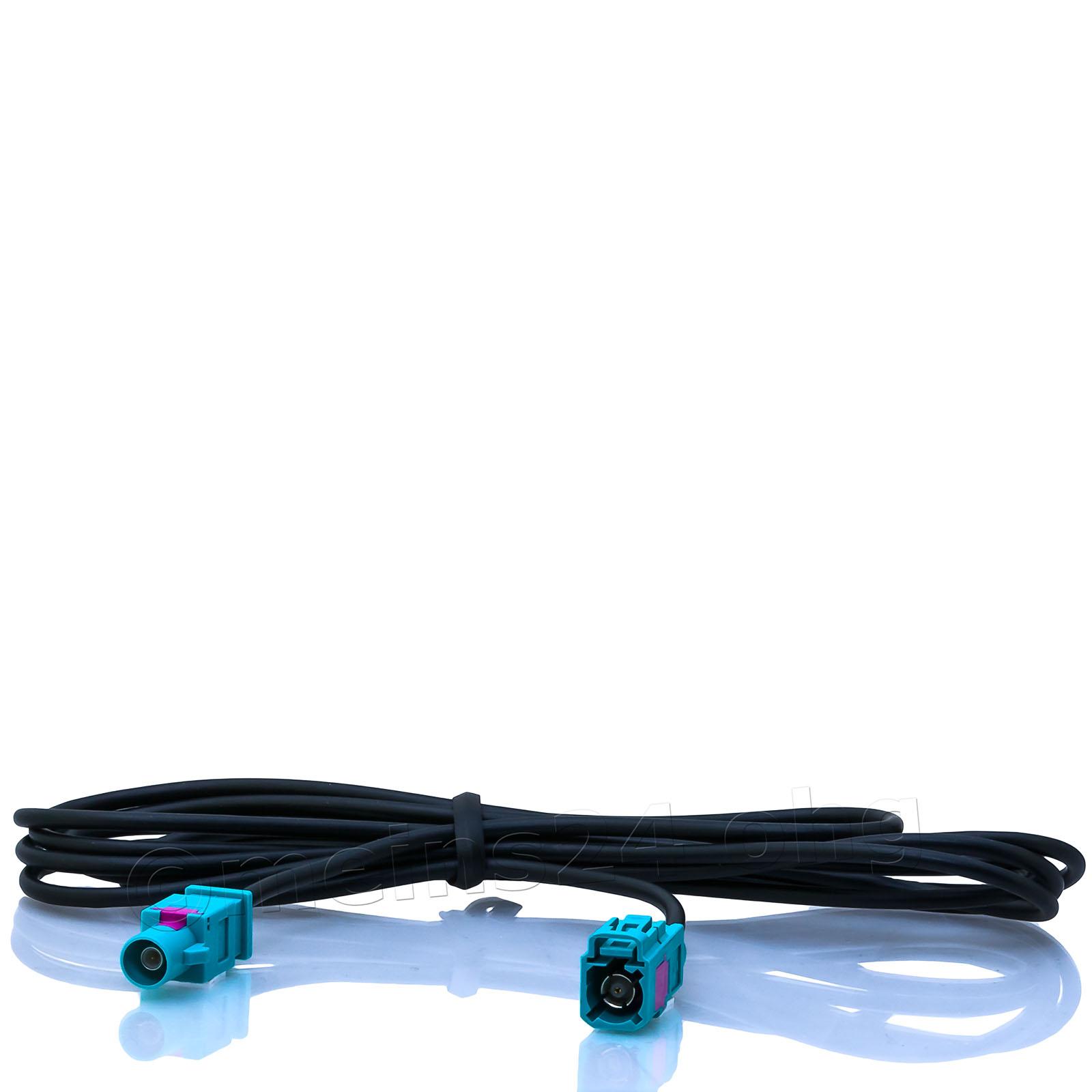 Antennenverlängerungskabel 2m Fakra Z Stecker (m) > Fakra Z Buchse (f)
