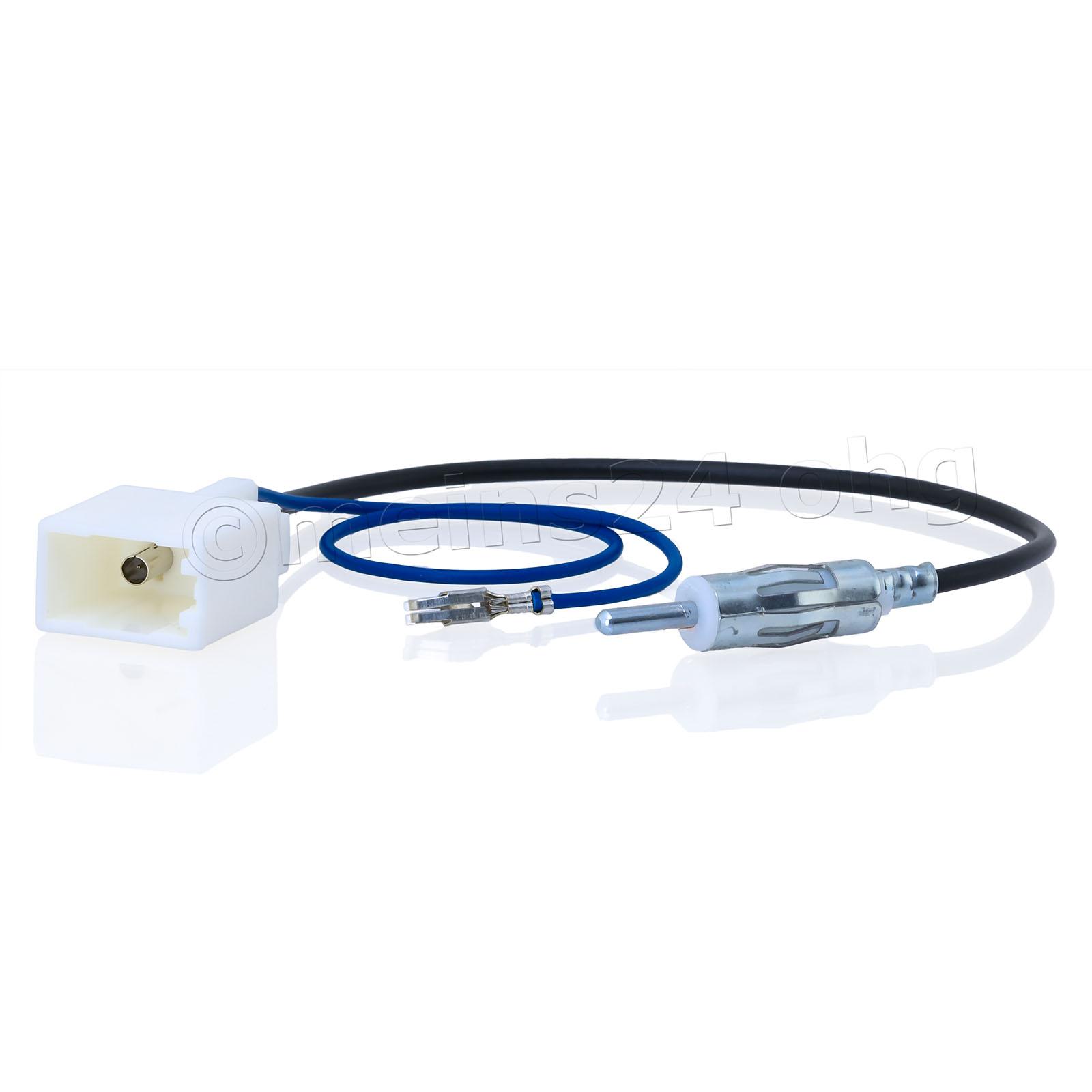 Antennenadapter passend für TOYOTA CITROEN PEUGEOT SUBARU auf DIN