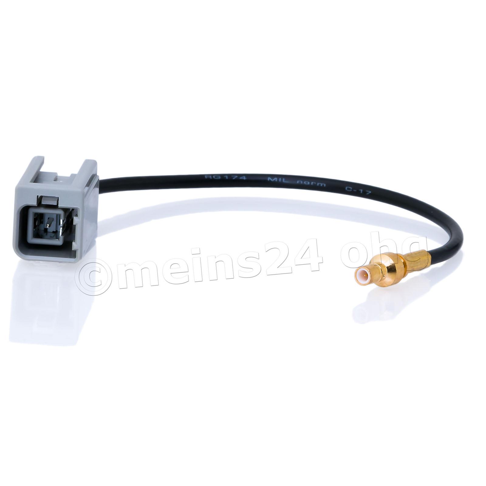 Antennenadapter GT5 1S 1PP Stecker (m) -> SMB Stecker (m)