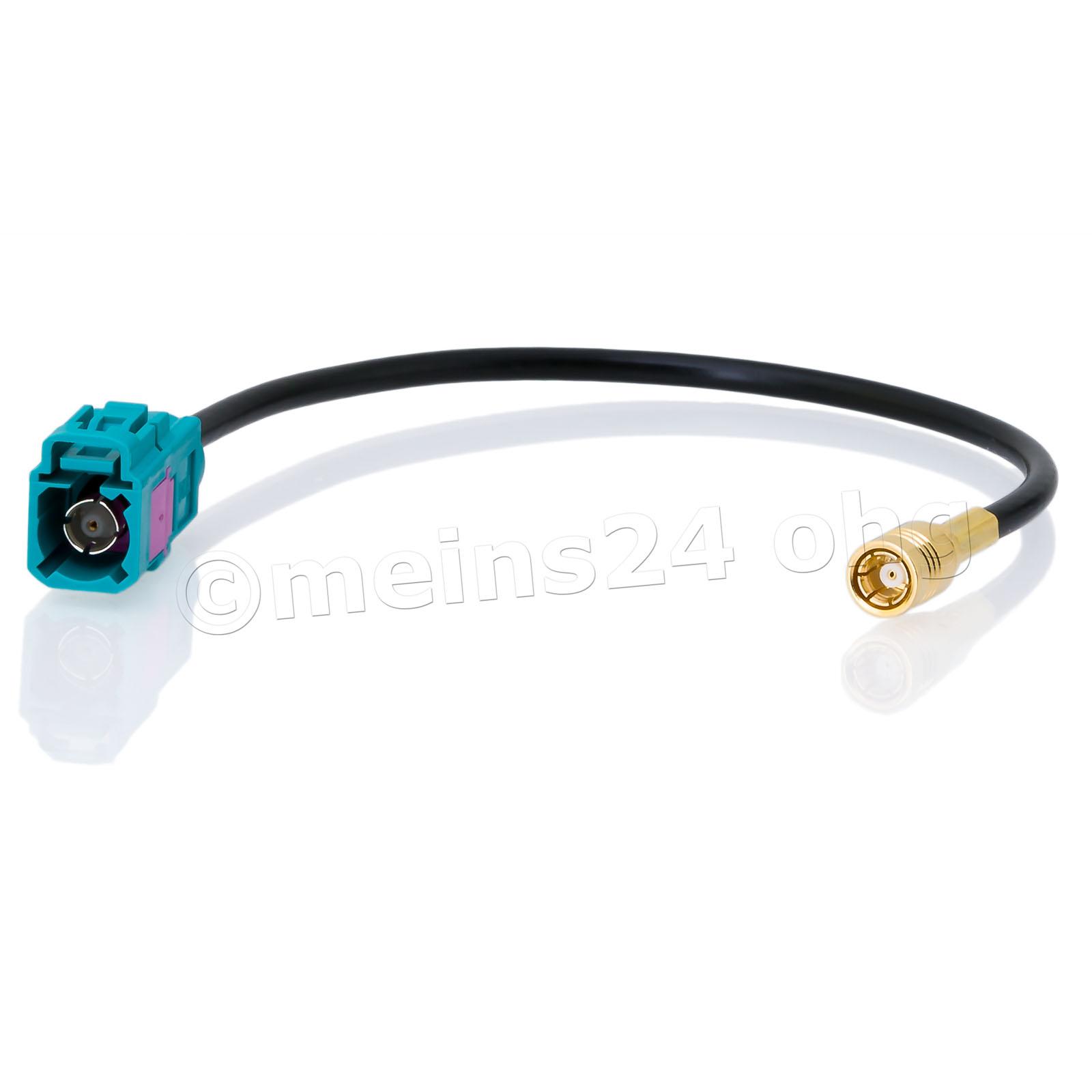 Antennenadapter FAKRA Z Buchse (f) -> SMB Buchse (f) DAB-Anschluss