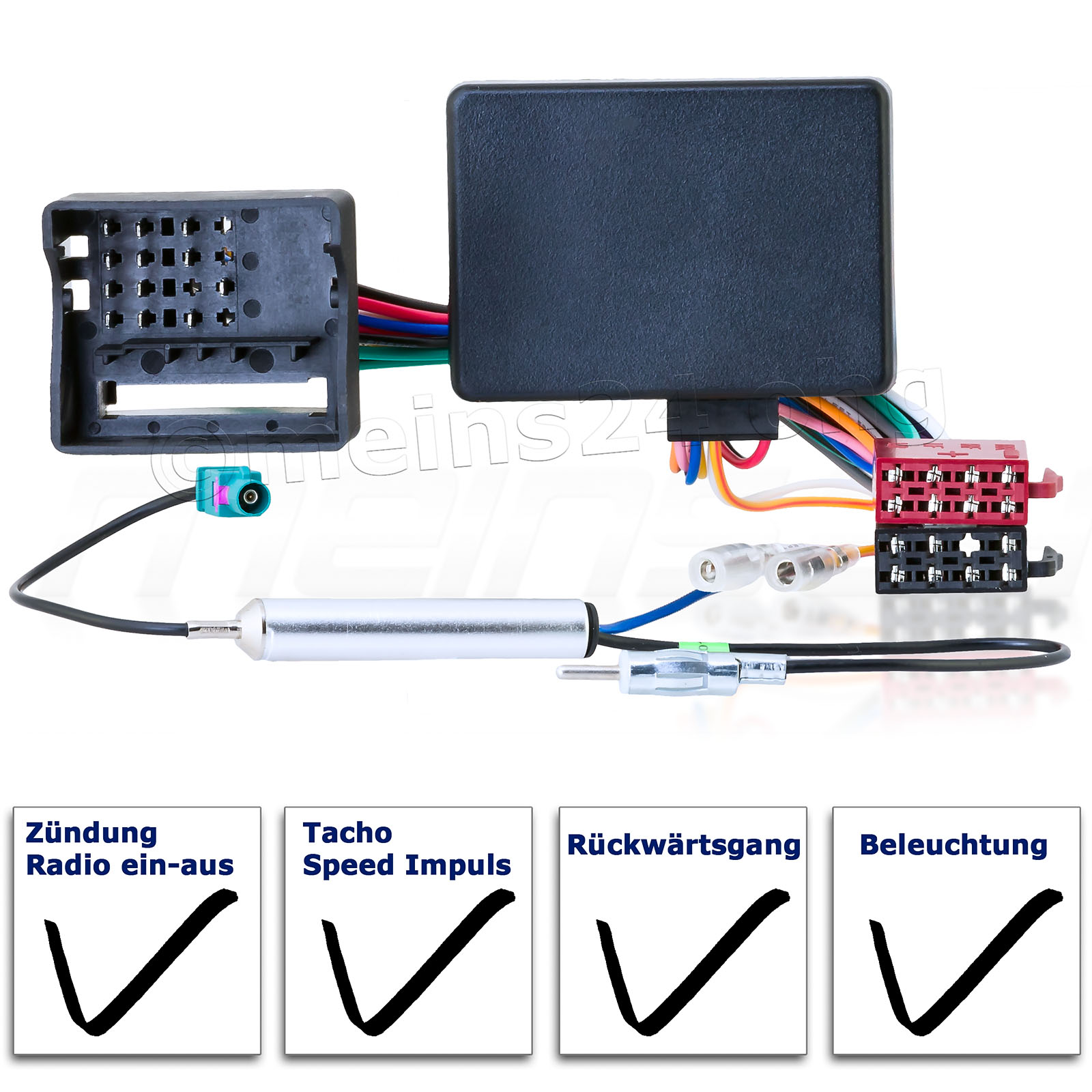 CAN-Bus Interface Radioadapter passend für VW AUDI SEAT SKODA