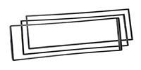 Radioblende passend für CITROEN C2 C3 / PEUGEOT 307 1007