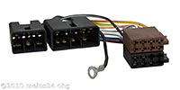 Radioadapter passend für MITSUBISHI alle bis 1995