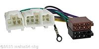 Radioadapter passend für NISSAN bis Bj.2000