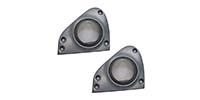 Lautsprecher Adapterringe passend für SMART ForTwo