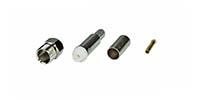 FME-Crimp-Buchse für RG 58 Kabel