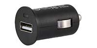 USB Lade-Adapter - Zigarettenanzünderstecker - 12V / 24V (1000mA)