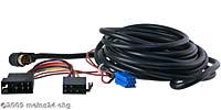 CD-Wechslerkabel für Blaupunkt mit 13pol. Mini-ISO Anschluss