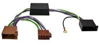 Aktivsystemadapter 10pol. ISO passend für VW AUDI