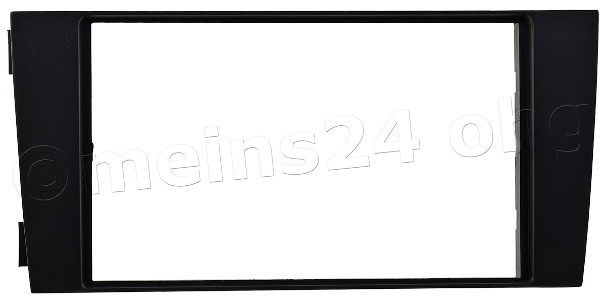 Doppel ISO Radioblende passend für AUDI A6 C5 (4B Facelift)