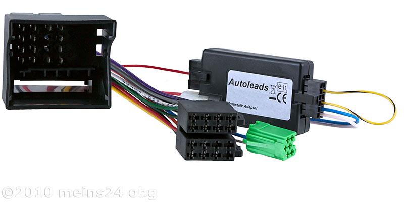 Lenkradfernbedienung Interface für OPEL Corsa D Agila Zafira -> BLAUPUNKT