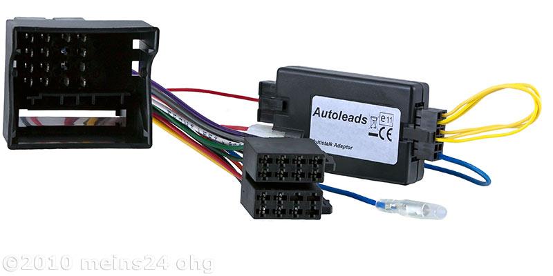 Lenkradfernbedienung Interface für OPEL Corsa D Agila Zafira -> KENWOOD