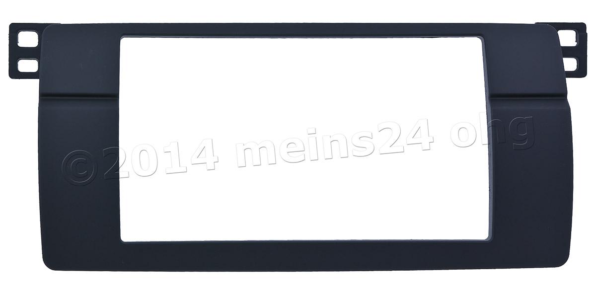 Doppel DIN Radioblende passend für BMW 3er E46