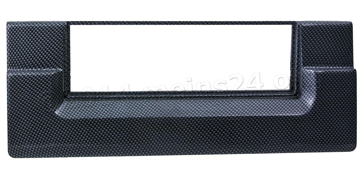 Radioblende in Carbon Optik für BMW 5er E39 und X5 E53