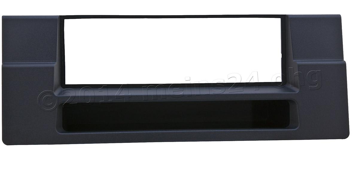 Radioblende mit Ablagefach passend für BMW 5er E39 X5 X53
