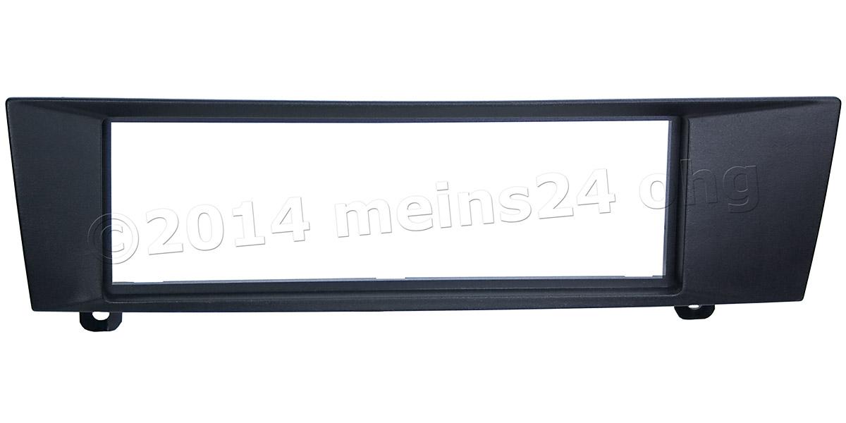 Radioblende passend für BMW 1er E87, 3er E90, Z4 E89