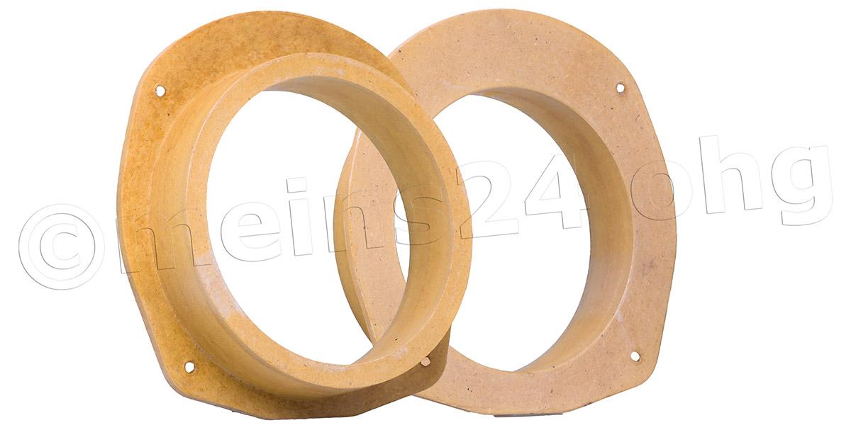 MDF Lautsprecher Adapterringe für FIAT Stilo