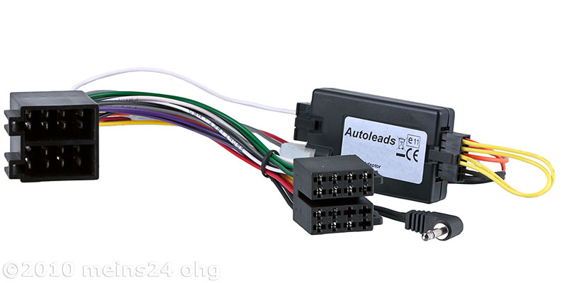 Lenkradfernbedienung Interface für OPEL Astra G Corsa C Vectra -> ALPINE