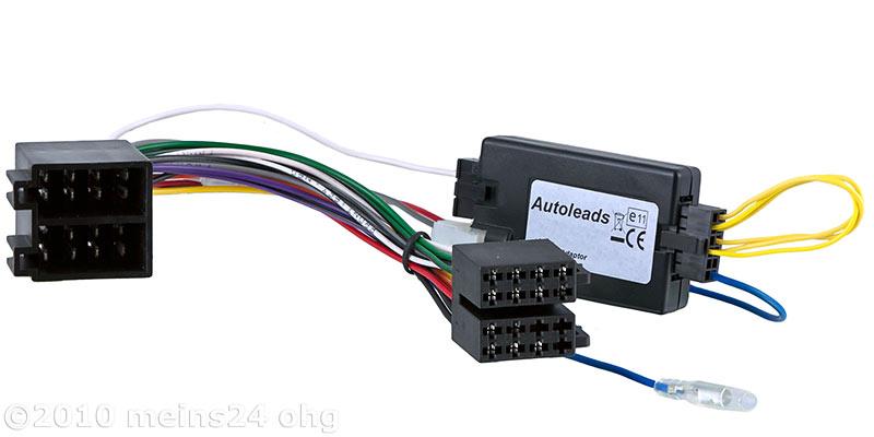 Lenkradfernbedienung Interface für OPEL Astra G Corsa C Vectra -> KENWOOD