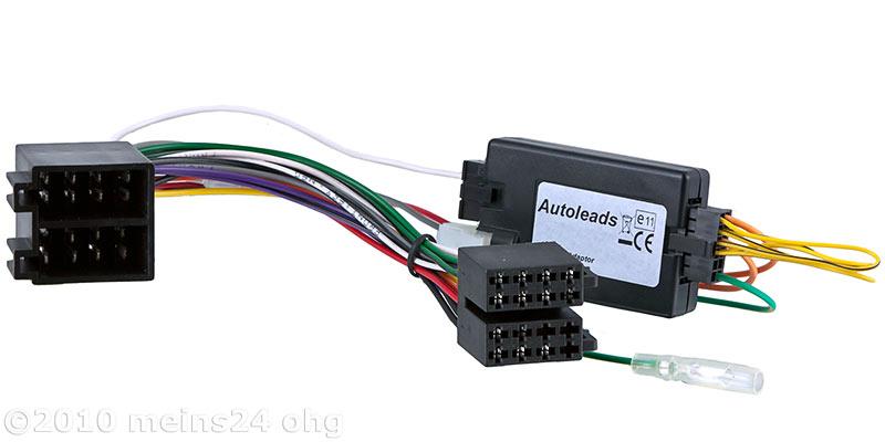 Lenkradfernbedienung Interface für OPEL Astra G Corsa C Vectra -> PANASONIC