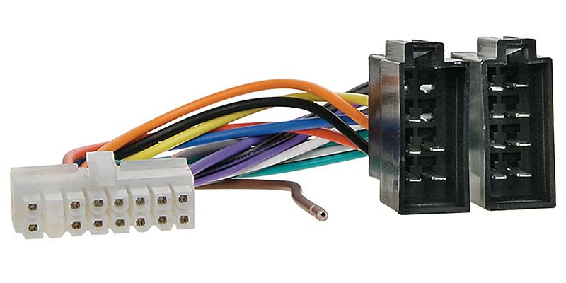 Anschlusskabel passend für PIONEER Autoradio 16pol. 33x8mm