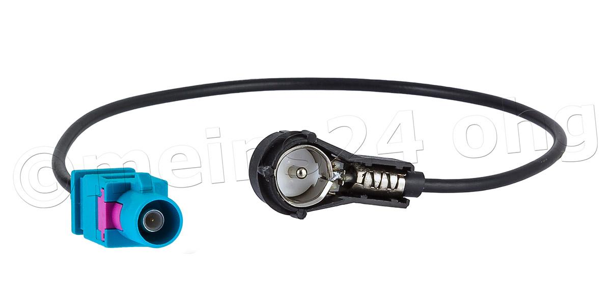 Antennenadapter Fakra Z Stecker (m) auf ISO Stecker