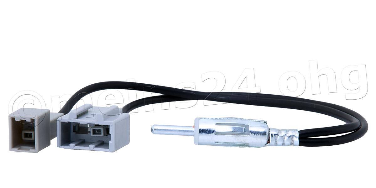 Antennenadapter 2 Stecker für HYUNDAI KIA Modelle auf DIN GT13