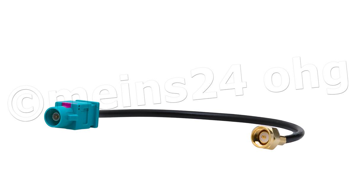 Antennenadapter Fakra Z Stecker (m) > SMA Stecker (m)