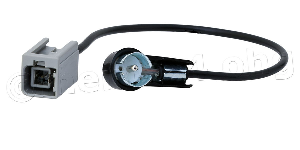 Antennenadapter GT5 1S 1PP Stecker (m) -> ISO Stecker (m) 50 Ohm