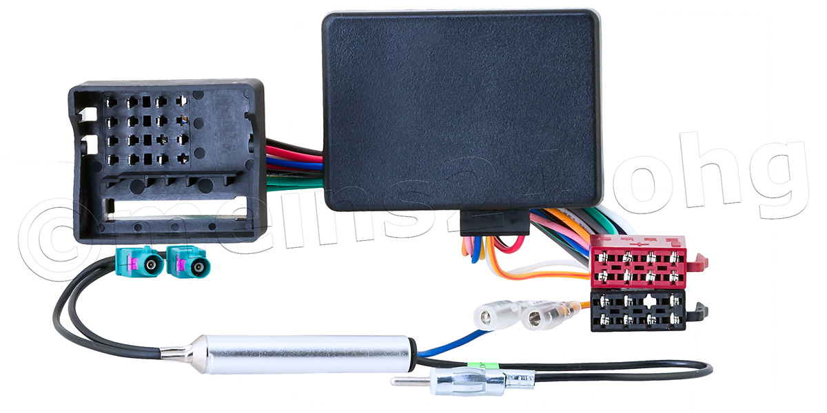 CAN-Bus Interface Radioadapter passend für VW AUDI SEAT SKODA
