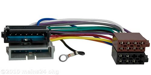 Radioadapter passend für CHRYSLER bis Bj.2001