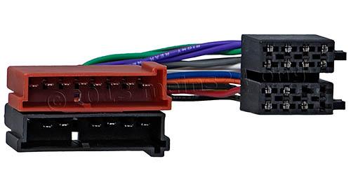 Radioadapter passend für FORD Escort Focus Fiesta Ka