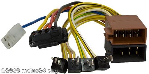 Anschlusskabel passend für original MERCEDES Autoradio