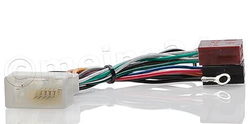 Radioadapter passend für MITSUBISHI ab Bj.2007, CITROEN PEUGEOT FIAT