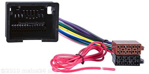 Radioadapter passend für OPEL Insignia Astra ab Bj.2009