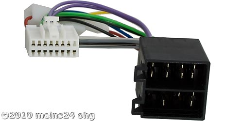 Anschlusskabel passend für PANASONIC Autoradio 16pol. 21x10mm