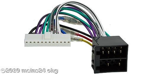 Anschlusskabel passend für PIONEER Autoradio 12pol. 42,5x6,7mm
