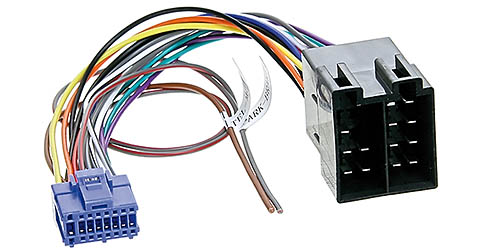 Anschlusskabel passend für PIONEER Autoradio 16pol. 20,5x10,7mm